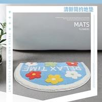 พรมเช็ดเท้า-Microfiber-ลายRelax-time-ดอกไม้