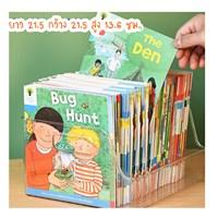 กล่องจัดระเบียบหนังสือ-Transparent-Storage-Box-แบบ-B