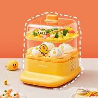 Preorder-เครื่องนึ่ง-อุ่นอาหาร-อบไอน้ำ-Multi-Layer-Steamer-แซลลี่-สีเหลือง