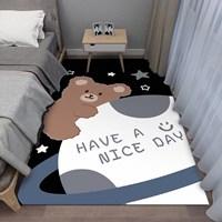 พรมปูข้างเตียง-ลายหมี-Have-a-nice-day