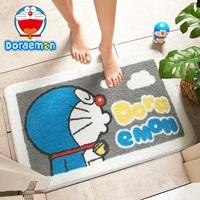 พรมเช็ดเท้า-Microfiber-ลายหลัง-Doraemon-E