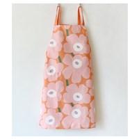 ผ้ากันเปื้อน-เชฟทำอาหาร--Marimekko-สีชมพู