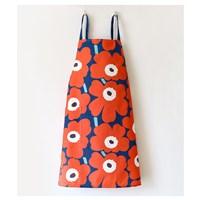 ผ้ากันเปื้อน-เชฟทำอาหาร--Marimekko-สีแดง