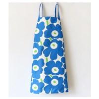 ผ้ากันเปื้อน-เชฟทำอาหาร--Marimekko-สีฟ้า