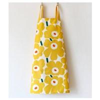 ผ้ากันเปื้อน-เชฟทำอาหาร--Marimekko-สีเหลือง