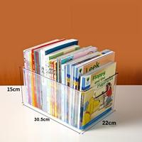 กล่องจัดระเบียบหนังสือ-Transparent-Storage-Box-แบบ-F