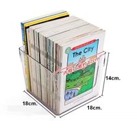 กล่องจัดระเบียบหนังสือ-Transparent-Storage-Box-แบบ-G