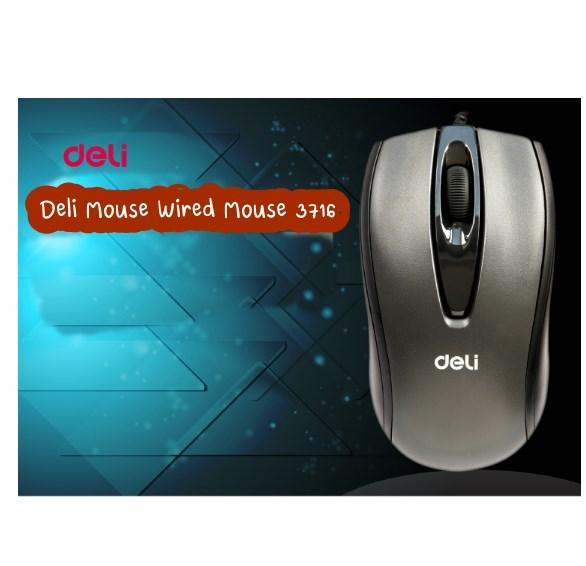 Deli-Mouse-Wired-เมาส์แบบมีสาย-รุ่น-3716