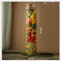 กล่องจัดระเบียบใส่ตุ๊กตากันฝุ่น--Doll-Stand-แถมไฟตกแต่ง(ขนาด-130cm.)