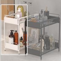 ชั้นวาง-Kitchen-Sink-Shelf-บนเคาเตอร์-ใต้เคาเตอร์-ขนาดเล็ก-สีขาว