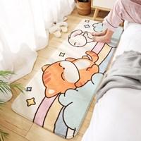 พรมตกแต่งห้อง-พรมนั่งเล่น-carpet-cute-ลายหมีนอนเล่น
