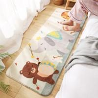 พรมตกแต่งห้อง-พรมนั่งเล่น-carpet-cute-ลายหมีและช้าง
