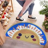 พรมดักฝุ่น-non-slip-mat--พรมมาม่า-PVC-carpet-ลาย-Rising-Sun