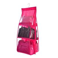ที่จัดระเบียบกระเป๋า-Handbag-Organiser-สีชมพู(1-แถม-1)