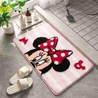 พรมเช็ดเท้า-Microfiber-ลาย-Minnie