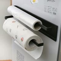 ตัวแขวนของ-แม่เหล็ก-Japanese-style-magnet-towel-rack-สีดำ