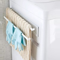 ตัวแขวนของ-แม่เหล็ก-Japanese-style-magnet-towel-rack-สีขาว