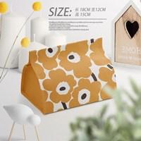 กล่องใส่ทิชชู่-ลาย-Marimekko-สีส้ม