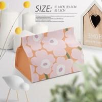 กล่องใส่ทิชชู่-ลาย-Marimekko-สีชมพู