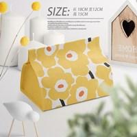 กล่องใส่ทิชชู่-ลาย-Marimekko-สีเหลือง