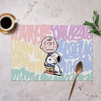 แผ่นรองจาน-Waterproof-Snoopy--แบบ-A