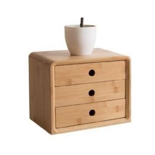 ตู้ไม้ตั้งโต๊ะ-สไตล์มูจิ--แบบลิ้นชัก-3-ชั้น