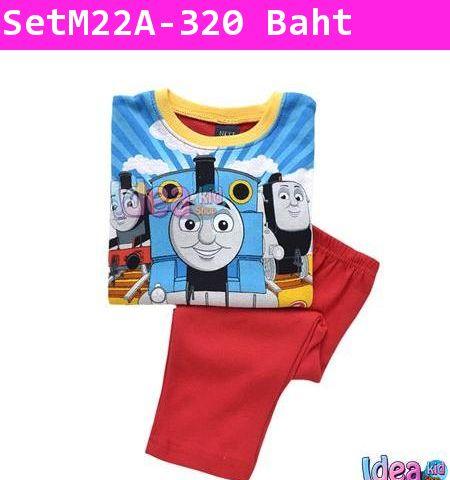 ชุดเสื้อกางเกง Thomas 3 หน้า